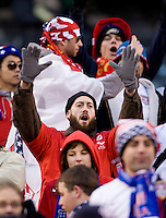United States Fan. The USMNT tied Argentina, 1-1, at the New Meadowlands Stadium in East Rutherford, NJ.