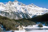 - St. Moritz panorama....- panorama di St. Moritz
