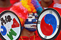 South Korea fans before game against Greece