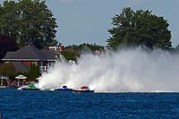 """Marc Theoret/Ghislain Marcoux, GP-444 """"GP Valleyfield"""", Brandon Kennedy, GP-25 """"EMS Survivor"""", GP-773 (Grand Prix Hydroplane(s)"""
