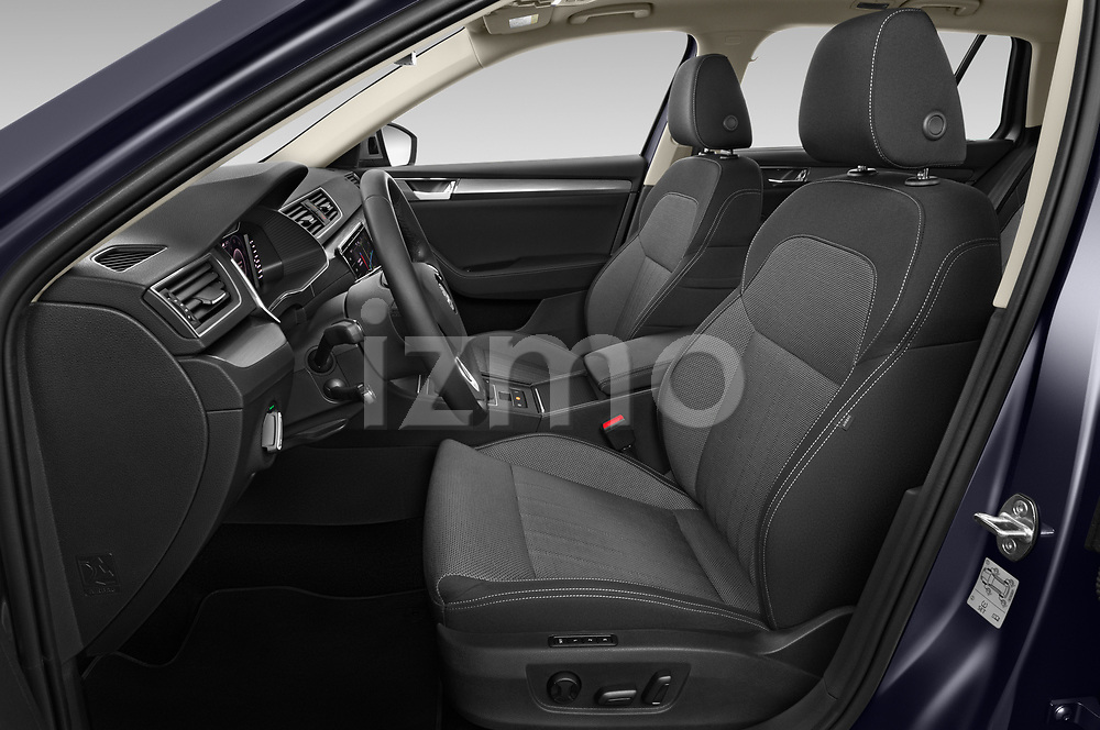 Front seat view of 2020 Skoda Superb-Combi-iV Style 5 Door Wagon Front Seat  car photos