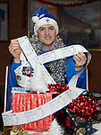 Jon Daly with 650 tickets for the boxing day match being given to people affected by homelessness and living in isolated circumstances