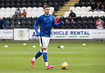 St Mirren v St Johnstone…29.08.21  SMiSA Stadium    SPFL<br />Reece Devine pictured durinmg the warm-up<br />Picture by Graeme Hart.<br />Copyright Perthshire Picture Agency<br />Tel: 01738 623350  Mobile: 07990 594431