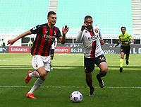 Milano  18-04-2021<br /> Stadio Giuseppe Meazza<br /> Serie A  Tim 2020/21<br /> Milan Genoa<br /> Nella foto:  Rade Krunic                                    <br /> Antonio Saia Kines Milano