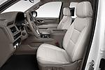 Front seat view of a 2021 GMC Yukon XL SLT 5 Door SUV