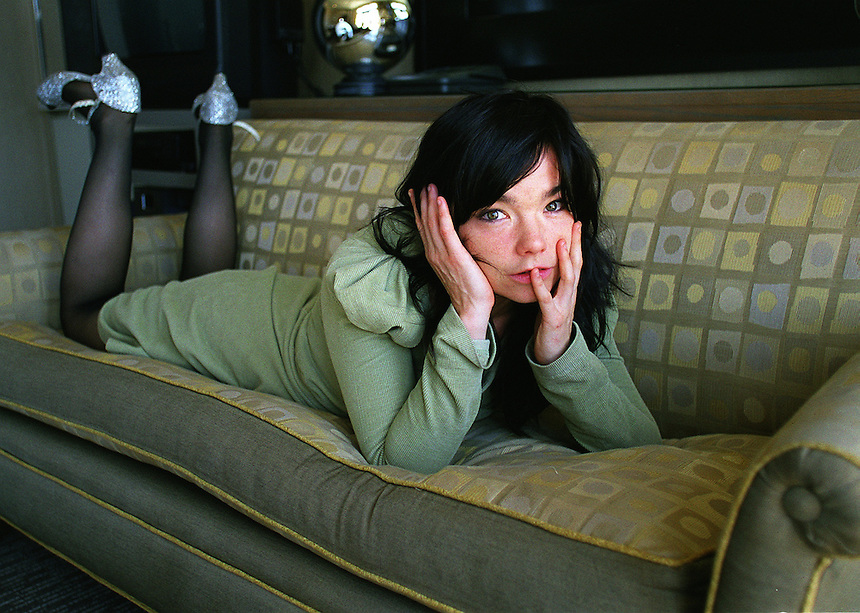 **not to be used before Sept. 10**.Icelandic singer/actress BJORK won Best Actress award at the Cannes Film Festival for the soon-to-open DANCER IN THE DARK.  She will also release a new album..Soho Grand Hotel, West Broadway, NYC.Newsday/ARI MINTZ  8/21/00