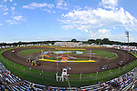 Aug 6, 2011; 6:10:50 PM; New Richmond, WI., USA; The 24th Annual USA Nationals presented by U.S. Steel Corporation running a 50,000-to-win World of Outlaws Dirt Late Model Series sanctioned event at Cedar Lake Speedway.  Mandatory Credit: (thesportswire.net)