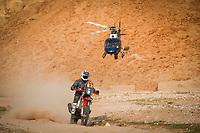 7th January 2021; Riyadh to Buraydah, Saudi Arabia; Dakar Rally, stage 5;  09 Howes Skyler (usa), KTM, Bas Dakar KTM Racing Team, Moto, Bike, action during the 5th stage of the Dakar 2021 between Riyadh and Buraydah, in Saudi Arabia on January 7, 2021