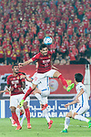 Guangzhou Forward Ricardo Goulart (C) heads the ball during the AFC Champions League 2017 Round of 16 match between Guangzhou Evergrande FC (CHN) vs Kashima Antlers (JPN) at the Tianhe Stadium on 23 May 2017 in Guangzhou, China. (Photo by Power Sport Images/Getty Images)