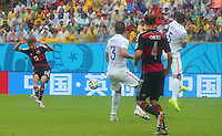 Thomas Muller of Germany scores the winning goal 1-0