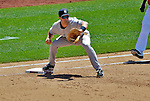 16 June 2012: New York Yankees first baseman Mark Teixeira in action against the Washington Nationals at Nationals Park in Washington, DC. The Yankees defeated the Nationals in 14 innings by a score of 5-3, taking the second game of their 3-game series. Mandatory Credit: Ed Wolfstein Photo