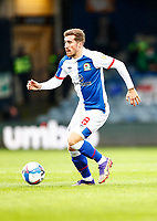 21st November 2020; Kenilworth Road, Luton, Bedfordshire, England; English Football League Championship Football, Luton Town versus Blackburn Rovers; Joe Rothwell of Blackburn Rovers receiving from midfield and moving forward on attack