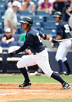 April 3, 2010:  Walter Ibarra of the New York Yankees playing in the annual Futures Game during Spring Training at Legends Field in Tampa, Florida.  Photo By Mike Janes/Four Seam Images