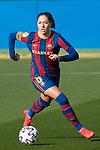Liga IBERDROLA 2020-2021. Jornada: 10<br /> FC Barcelona vs Santa Teresa: 9-0.<br /> Vicky Losada.