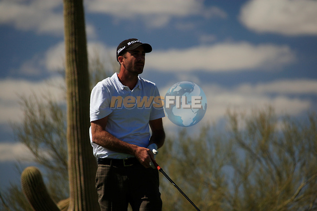 Jeff Ogilvy (AUS) in action on the 12th tee during Day 2 of the Accenture Match Play Championship from The Ritz-Carlton Golf Club, Dove Mountain, Thursday 24th February 2011. (Photo Eoin Clarke/golffile.ie)