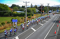 during stage five of the NZ Cycle Classic UCI Oceania Tour in Wairarapa, New Zealand on Tuesday, 26 January 2017. Photo: Dave Lintott / lintottphoto.co.nz