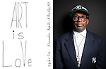Spike Lee photographed for ART & SOUL