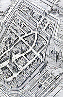Utopia:  Medieval Town, Culembore, Holland 1648.  Bacon, DESIGN OF CITIES, p. 148.  Photo '77.