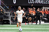 Atlanta, Georgia - Saturday April 7, 2018: Atlanta United FC defeated LAFC 5-0 during an MLS match at Mercedes Benz Stadium in front of a sellout crowd of 45,207.