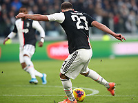 Calcio, Serie A: Juventus - Cagliari, Turin, Allianz Stadium, January 6, 2020.<br /> Juventus' Gonzalo Higuain scores during the Italian Serie A football match between Juventus and Cagliari at Torino's Allianz stadium, on January 6, 2020.<br /> UPDATE IMAGES PRESS/Isabella Bonotto
