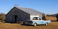 Old car on Virginia farm.