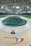 Rio 2016 - Para Cycling // Paracyclisme.<br /> Para Cycling participates in a track cycling training session // Para Cycling participe à une session d'entraînement de cyclisme sur piste. 06/09/2016.