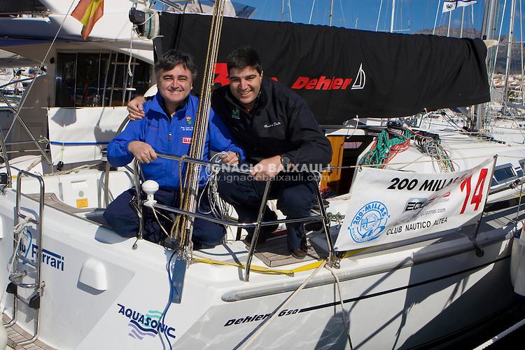 Blu Ferrari .XXIII Edición de la Regata de Invierno 200 millas a 2 - 6 al 8 de Marzo de 2009, Club Náutico de Altea, Altea, Alicante, España