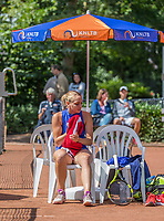 Hilversum, Netherlands, August 9, 2017, National Junior Championships, NJK, Isolde de Jong<br /> Photo: Tennisimages/Henk Koster