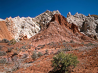 The rugged and colorful hillside of the Cockscomb area of Escalante Grand Staircase National Monument in southern Utah.<br />