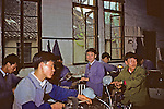 People At Work At Factory For Disabled