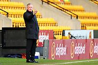 13th February 2021; Carrow Road, Norwich, Norfolk, England, English Football League Championship Football, Norwich versus Stoke City; Stoke City Manager Michael O'Neill