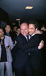CARLO VERDONE CON BEPPE FIORELLO <br /> INAUGURAZIONE MULTISALA CINEMA ADRIANO ROMA 2000