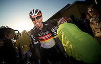 Milan-San Remo 2012.raceday.Robert Wagner post-race