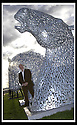 14/11/2007       Copyright Pic: James Stewart.File Name : sct_jspa12_helix.SCULPTOR ANDY SCOTT STANDS NEXT TO SCALE MODELS OF THE TWO 30 METRE HIGH KELPIES WHICH WILL BE THE CENTRE PIECE OF FALKIRK COUNCIL'S FOR THEIR HELIX PROJECT WHICH.RECEIVED £25 MILLION POUND FROM THE BIG LOTTERY FUND... .James Stewart Photo Agency 19 Carronlea Drive, Falkirk. FK2 8DN      Vat Reg No. 607 6932 25.Office     : +44 (0)1324 570906     .Mobile   : +44 (0)7721 416997.Fax         : +44 (0)1324 570906.E-mail  :  jim@jspa.co.uk.If you require further information then contact Jim Stewart on any of the numbers above........