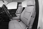 Front seat view of 2018 GMC Sierra-2500HD 2WD-Regular-Cab-Long-Box 2 Door Pick-up Front Seat  car photos