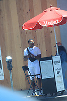 Adrien Broner Spotted At Cross Roads In Hollywood