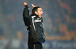 St Johnstone v Dundee United....22.02.11 .Derek McInnes goes nuts at the ref.Picture by Graeme Hart..Copyright Perthshire Picture Agency.Tel: 01738 623350  Mobile: 07990 594431