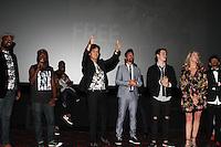 projection du film Janeen Damian Michael Damian Nicholas Galitzine Olivier Raynal et toutes l Èquipe du film - Avant-premiere du film 'Free Dance' au cinÈma Gaumont Aquaboulevard
