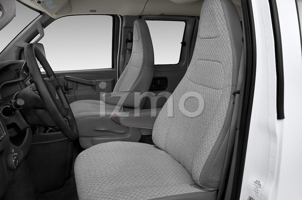 Front seat view of 2016 Chevrolet Express 3500-LS 4 Door Passenger Van Front Seat  car photos