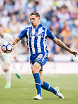 Zouhair Feddal Agharbi of Deportivo Alaves in action during their La Liga match between Real Madrid and Deportivo Alaves at the Santiago Bernabeu Stadium on 02 April 2017 in Madrid, Spain. Photo by Diego Gonzalez Souto / Power Sport Images