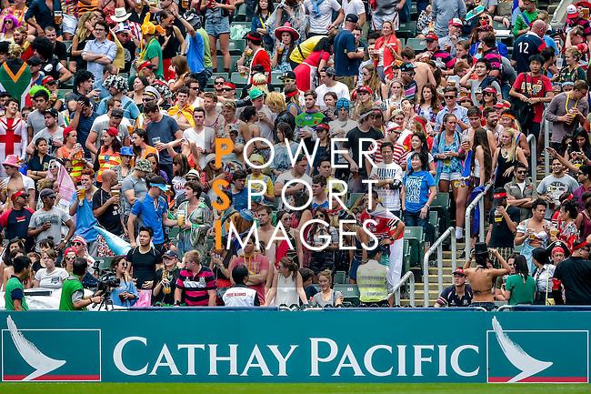 Italy vs Hong Kong on Qualifier Semi Final during the Cathay Pacific / HSBC Hong Kong Sevens at the Hong Kong Stadium on 30 March 2014 in Hong Kong, China. Photo by Victor Fraile / Power Sport Images