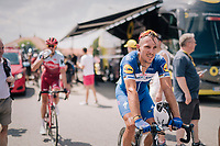 Philippe Gilbert (BEL/Quick Step floors) post-race<br /> <br /> Stage 1: Noirmoutier-en-l'Île > Fontenay-le-Comte (189km)<br /> <br /> Le Grand Départ 2018<br /> 105th Tour de France 2018<br /> ©kramon