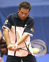 20031210, Rotterdam, LSI Masters, Raemon Sluiter in zijn partij tegen Reuijl
