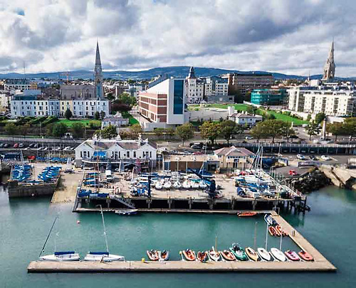 The National Yacht Club in Dun Laoghaire is the host for this year's event