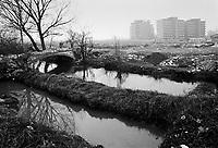 - Milano, periferia sud  (dicembre 1982)<br /> <br /> - Milan, southern suburbs (December 1982)