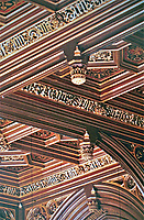 Detail--Ceiling in House of Lords. Pugin and Barry. London.