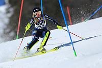 20th February 2021; Cortina d'Ampezzo, Italy; FIS Alpine World Ski Championships, Women's Slalom   Elsa Fermbaeck (SWE)