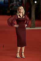 Italian actress Isabella Ferrari poses on the red carpet for the screening of 'Caterina Caselli - Una vita, cento vite' at the 16th edition of the Rome Film Fest in Rome, on October 20, 2021.<br /> UPDATE IMAGES PRESS/Isabella Bonotto