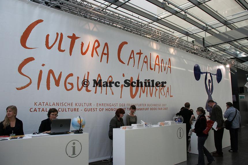 Katalanien ist das Gastland auf der Buchmesse 2007