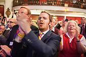 Standing ovation for Nigel Farage, UKIP Spring Conference, Margate, Kent.